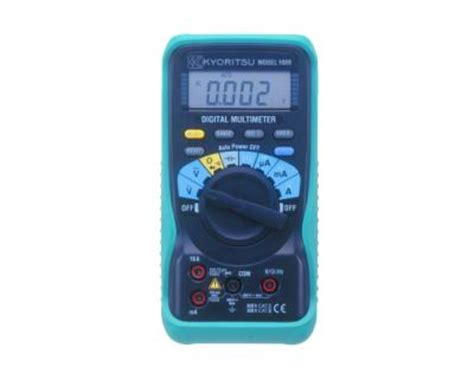 Multitester Kyoritsu digital multimeter by kyoritsu 1009 digital multimeter