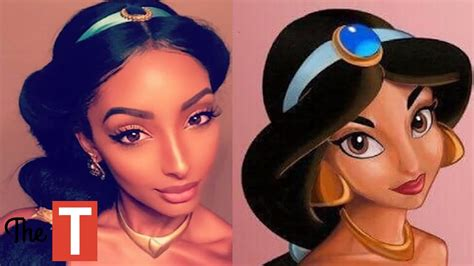 what would i look like with black hair 10 people who shockingly look like disney princesses youtube