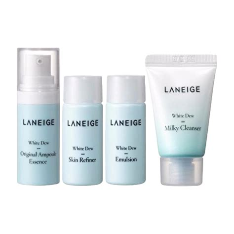 Harga Laneige Trial Kit White Dew guseonghada shop line