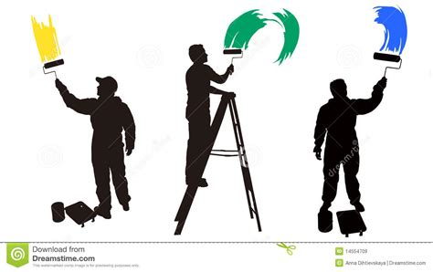 the house painter house painter silhouette www imgkid com the image kid has it