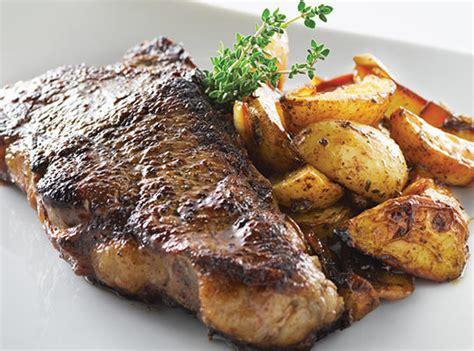 Hotplate Steak Potatoes beefy roasted steak potatoes gluten free recipes nestl 233 professional
