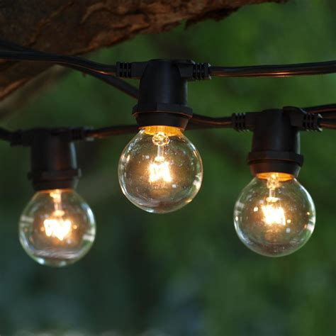 Outdoor Decorative String Lights Creativity Pixelmari Com Patio Light Bulbs