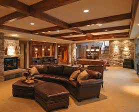 basement homes interior photos of brilliant furnished basements