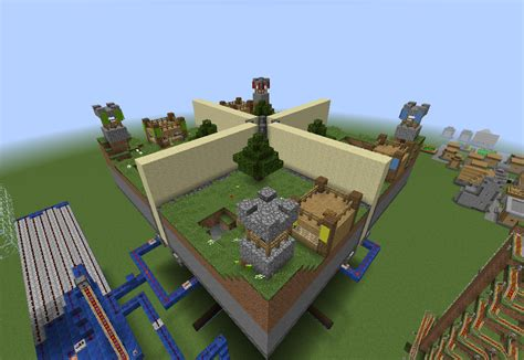 minecraft minigame maps minecraft micro battles and mini walls minigame map pc