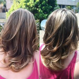 how to blend in gray in hair with low lights mommy glitz hair designs