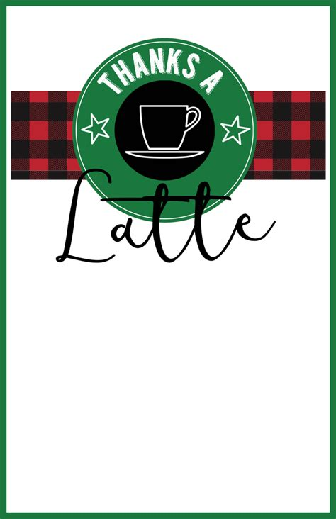 Starbucks Gifts Card - easy teacher christmas gift idea starbucks gift card paper trail design