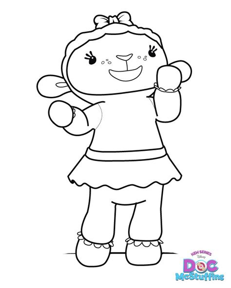 Free Printable Coloring Pages Doc Mcstuffins 2015 Doc Mcstuffins Coloring Pages To Print