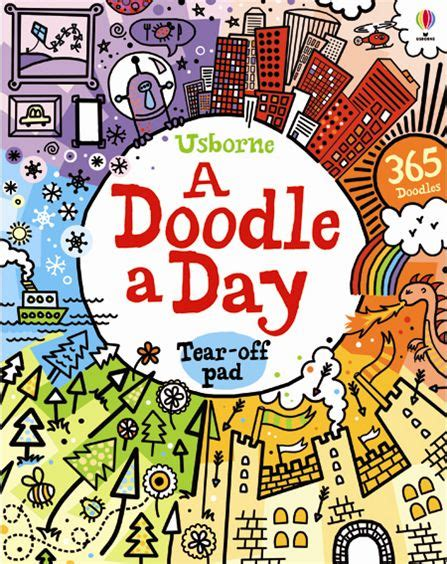 doodle and book a doodle a day at usborne children s books