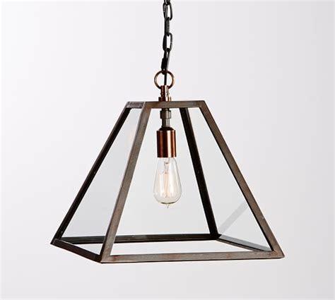 Pottery Barn Greenhouse Pendant Greenhouse Indoor Outdoor Pendant Pottery Barn