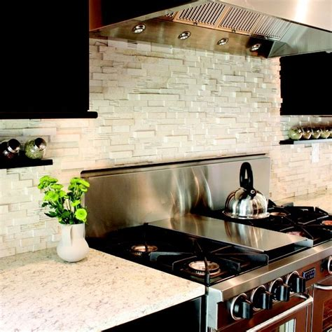 kitchen stone backsplash ideas backsplashes glass tile and stone stone backsplash