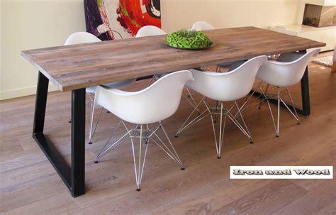 industriele tafel amsterdam industriele eiken tafels met banken beste inspiratie