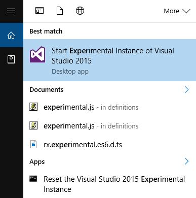reset visual studio settings command line common visual studio extension woes
