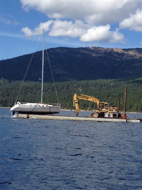 boat salvage floats boat towing company lake tahoe california tahoe boat