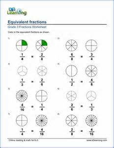 grade 3 fractions and decimals worksheets free