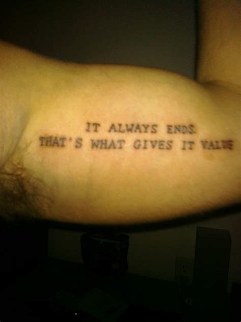 tattoo cost for a quote neil gaiman tattoos contrariwise literary tattoos