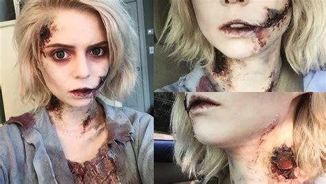 tutorial cara make up zombie grwm zombie halloween makeup tutorial youtube