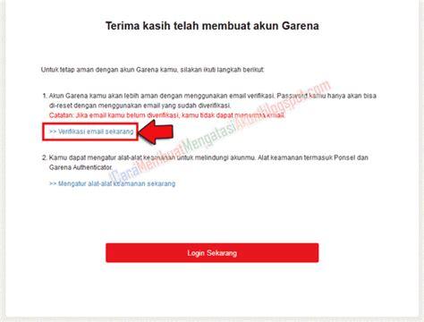 cara membuat pb garena menjadi cyberindo cara buat akun garena indonesia dengan verifikasi email