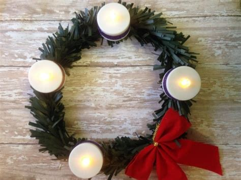 advent wreath crafts for diy advent wreath craft for using dollar store supplies