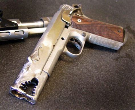 Handmade Pistol - aaron custom 1911 pistol from marc krebbs gun of the day