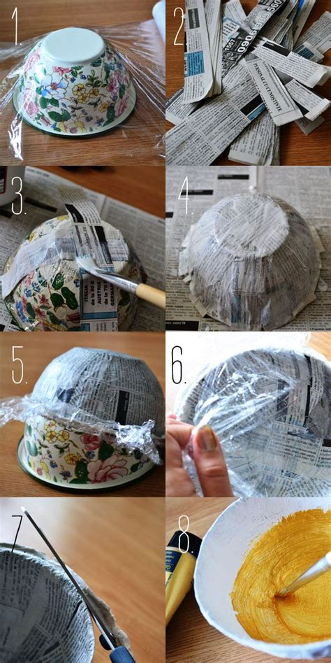 Things To Make From Paper Mache - best 25 papier mache ideas on paper mache diy