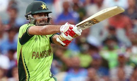 ahmed shehzad out india vs pakistan icc cricket world