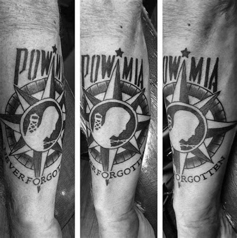 pow mia tattoos 30 pow designs for veteran ink ideas