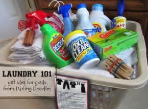 gift basket ideas laundry 101 doodles