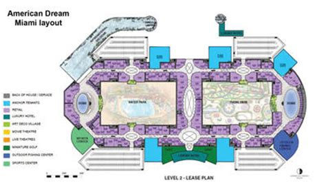 mall of america floor plan american dream miami mega mall unveils floor plan rega