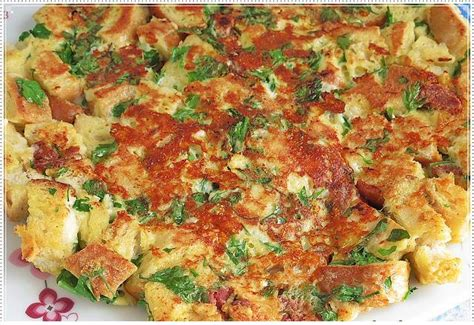 bayat ekmek omleti yemek eli resimli kolay tarifler kahvaltılar i 231 in ekmekli omlet tarifi oktay usta yapılışı