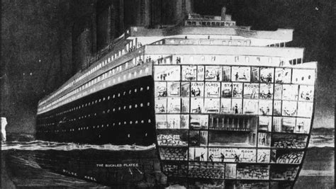 Titanic Sinking Spot by Lifestyle Inside The Titanic Ii A Replica Of The