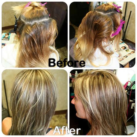 Toner Makeover six before and after color makeovers career modern salon