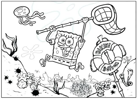 Coloring Pages 4u by Spongebob Coloring Free Printable Coloring Sheets Pictures