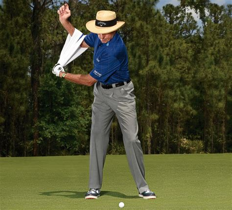 one arm golf swing drill use your dominant arm to hammer the ball golf digest
