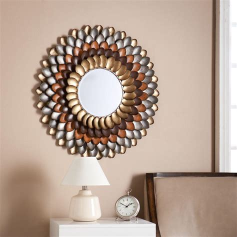 mirror decoration southern enterprises wanda 31 5 in h x 23 75 in w