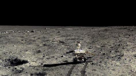 format video paling jernih mengintip lebih dekat tekstur permukaan bulan tekno