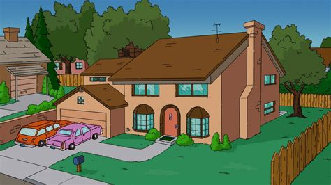 simpsons house the simpsons house tv wallpapers hd desktop and mobile backgrounds