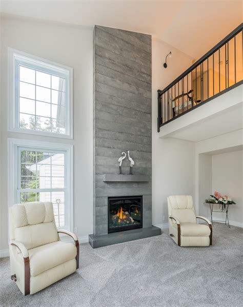 beton feuerstelle board formed concrete fireplace brantford ontario