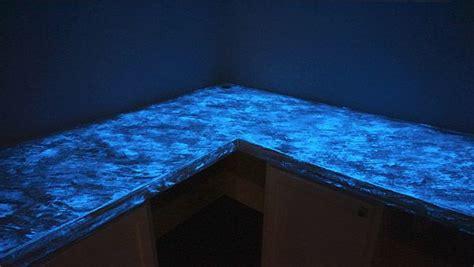 glow in the concrete countertops countertops