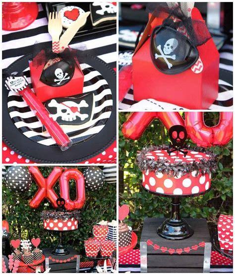 karas party ideas pirate themed valentine party karas