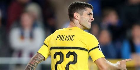 christian pulisic to chelsea christian pulisic transfers to chelsea for american record