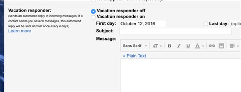 4 Out Of Office Message Exles That Work When You Rest Vacation Email Message Template