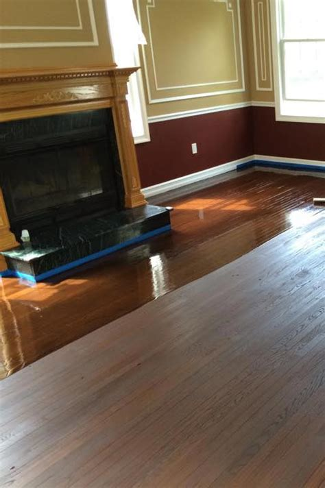 waxing old hardwood floors