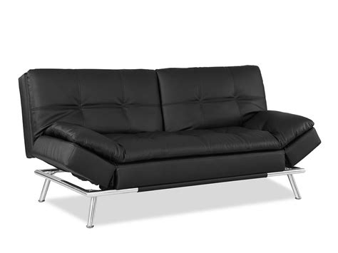 convertible futon sofa bed matrix convertible sofa bed black by lifestyle solutions