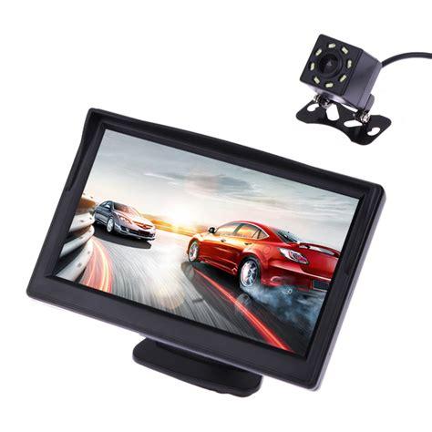 Waterproof 5 Inch Colours 5 inch tft lcd display car monitor waterproof vision reversing backup rear view