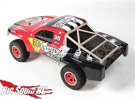 nitro circus rc monster basher nitro circus 4 215 4 short course truck 171 big squid rc
