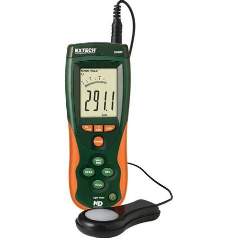 extech hd400 light meter extech instruments heavy duty light meter the home depot