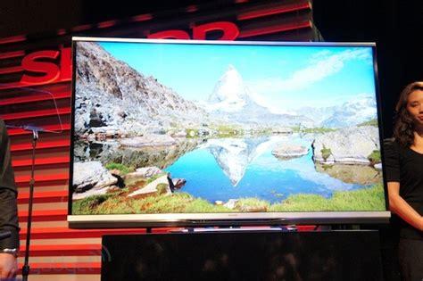 Tv Sharp Ultra Hd ultra hd tv sharp werkelt bereits an 8k tv ger 228 ten