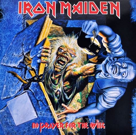 Dying Covers by Iron Maiden No Prayer For The Dying Original Vinyl