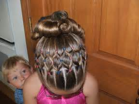 gymnastics hairstyle for long and short hair