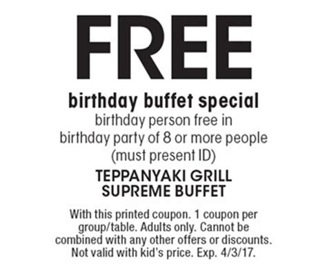 localflavor teppanyaki grill supreme buffet coupons